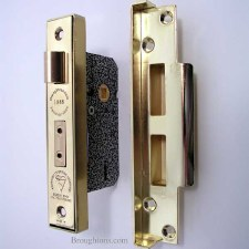What a five lever mortise lock is