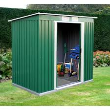 lockable garden shed